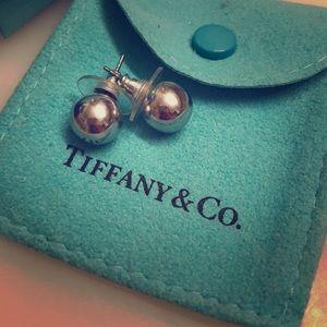 Iconic Tiffany's Silver Ball Earrings